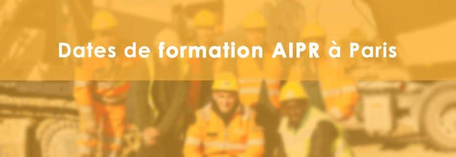 Formation AIPR à Paris
